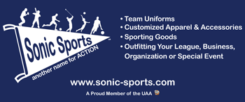 Sonic Sports 6-foot banner